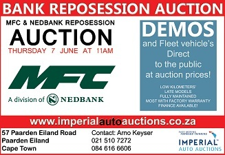 Imperial cars auctions in South Africa