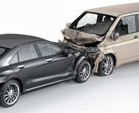 Cars that have been damaged